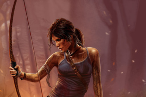 4k Lara Croft Tomb Raider