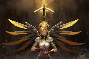 4k Mercy Overwatch
