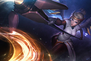 4k Mercy Overwatch Arts Wallpaper