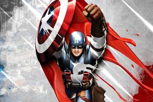 4k New Captain America Wallpaper