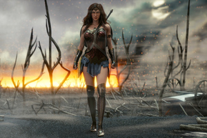 4k New Wonder Woman Wallpaper