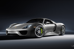 4k Porsche 918 Spyder Wallpaper