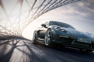 4k Porsche Cayman S Wallpaper