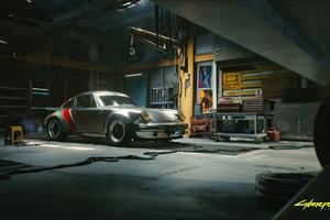 4k Porsche Cyberpunk 2077