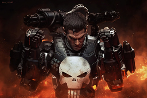 4k Punisher X War Machine 2020