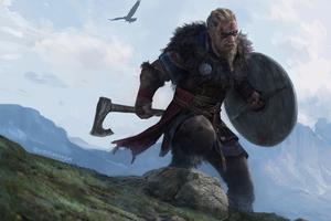 4k Ragnar Lothbrok Assassins Creed Valhalla Wallpaper