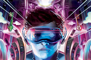 4k Ready Player One Movie Imax Poster