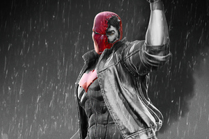 4k Red Hood 2020 Artwork