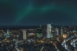 4K Skyline Citylines