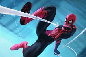 4k Spider Artwork