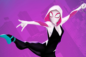 4k Spider Gwen Art New Wallpaper