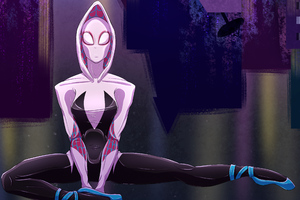 4k Spider Gwen Artwork Wallpaper