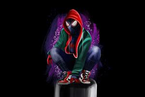 4k Spider Man Miles Wallpaper