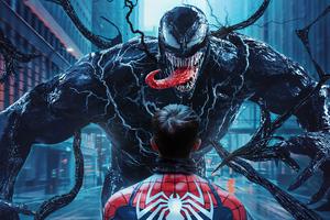 4k Spider Man Vs Venom Wallpaper