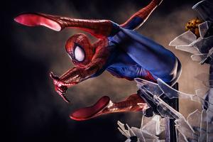 4k Spiderman Artwork 2018