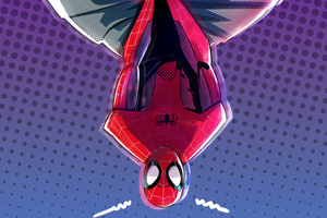 4K SpiderMan Into The Spider Verse New Art