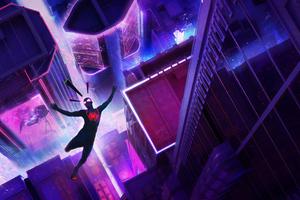 4k Spiderman Miles New Wallpaper