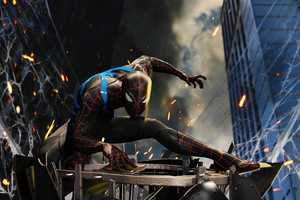 4k Spiderman Ps4 2020 Wallpaper
