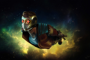 4k Star Lord Artwork Wallpaper
