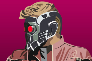 4k Star Lord Artwork New Wallpaper