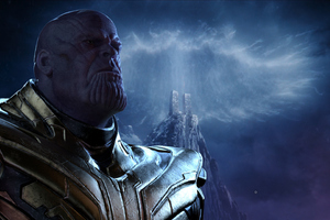 4k Thanos Infinity War Wallpaper