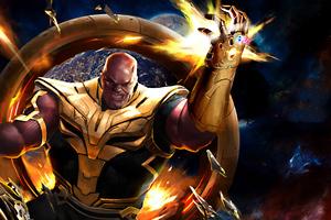 4k Thanos Newart