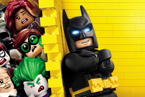 4k The Lego Batman 2018