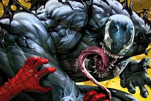 4k Venom 2020 Artworks Wallpaper