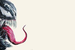 4k Venom Art Wallpaper