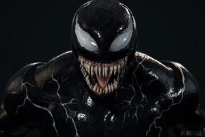 4k Venom Artwork 2018 New