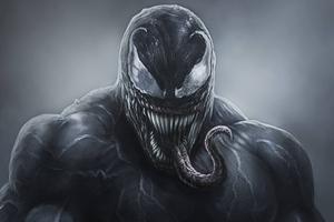 4k Venom Artwork 2018