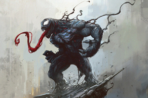 4k Venom Artworks New Wallpaper