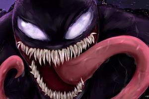4k Venom Digital Artwork