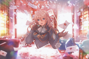 4k Violet Evergarden Anime