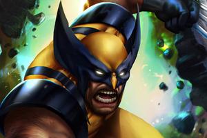 4k Wolverine Artwork 2020 Wallpaper