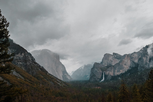 4k Yosemite Landscape View Wallpaper