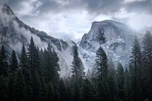 4k Yosemite Mountains Wallpaper