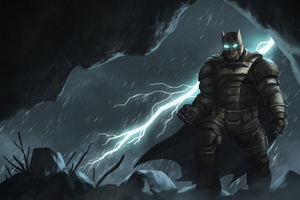 4kbatman Armour Wallpaper
