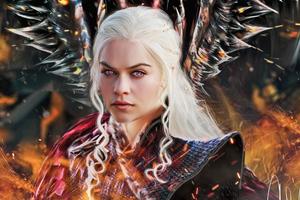 4kDaenerys Targaryen Wallpaper