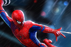 4kspiderman Art Wallpaper