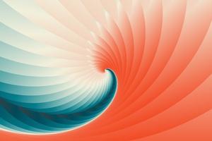 5k Abstract Shape Wallpaper