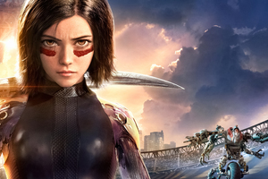 5k Alita Battle Angel Wallpaper