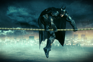 5k Batman Arkham Knight Wallpaper