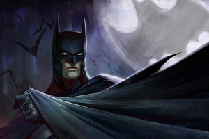 5k Batman Art