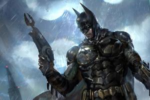 5k Batman Knight Wallpaper