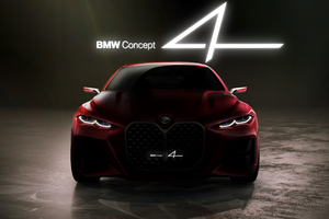 5k BMW Concept 4 2019 Wallpaper