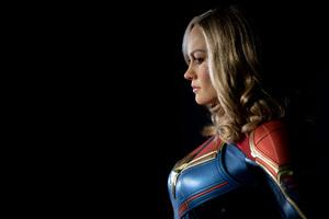 5k Captain Marvel Wallpaper