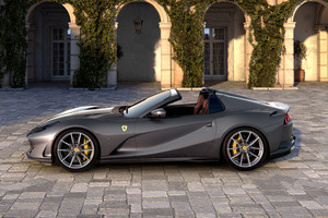 5k Ferrari 812 GTS 2019 Wallpaper