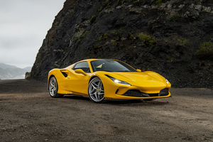 5k Ferrari F8 Spider 2020 Wallpaper