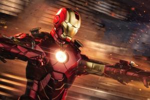 5k Iron Man 2018 Art